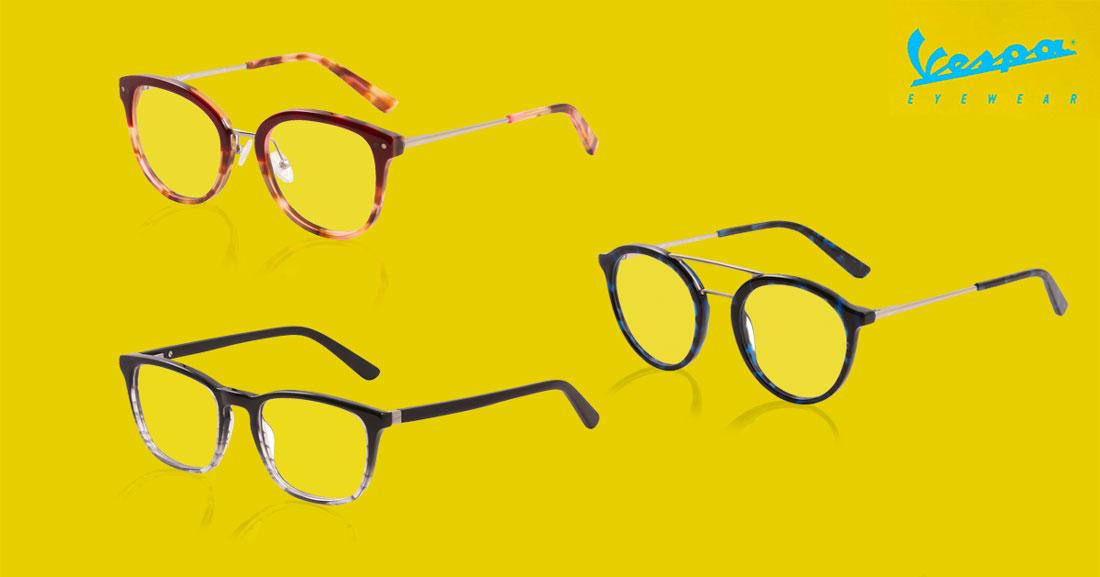03072668573d45 Vespa Eyewear brillen zijn elegant en stijlvol